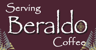 Serving Beraldo Coffee